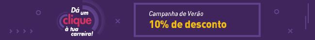 Campanha de Verão GALILEU 10% de Desconto