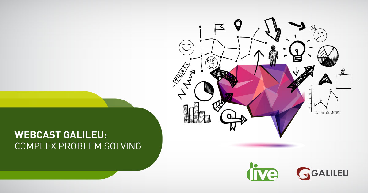Webcast 2019 complex problem solving Galileu