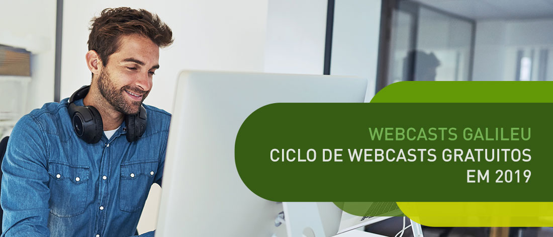 webcast webinar galileu 2019 Galileu