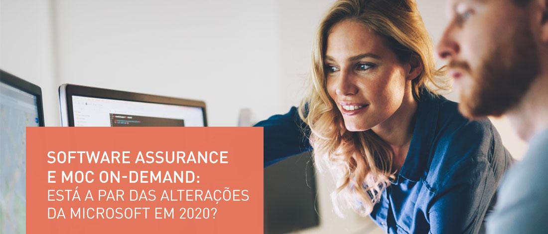 software assurance header Galileu