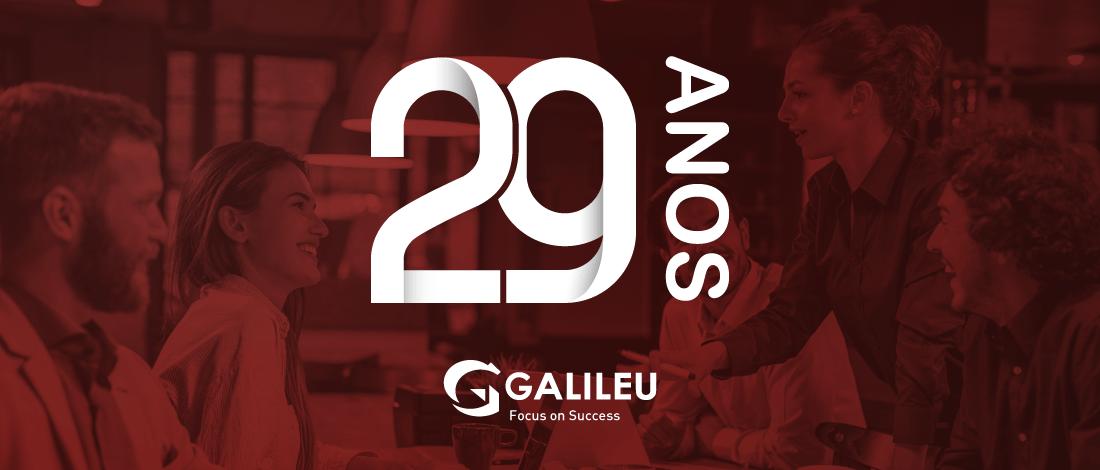 A GALILEU FAZ 29 anos!